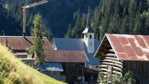 Trotz Spannungen: In der Bündner Gemeinde St. Martin will man vorwärts schauen.