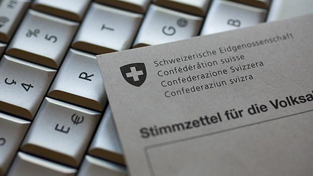 Ab 2019 sollen alle Bündner online abstimmen können.