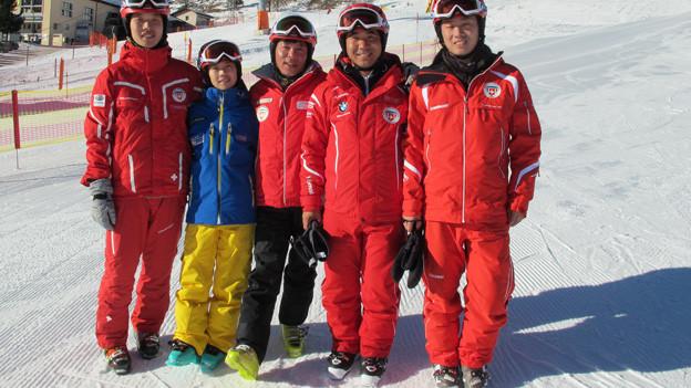 Chinesische Skilehrer sollen Botschafter für die Schweiz werden.