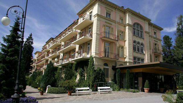 Das Hotel Waldhaus in Flims - ein Ort für noble Ferien.