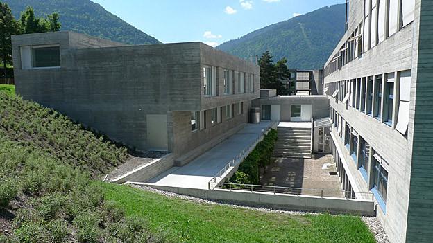 Gebäude Pädagogische Hochschule Chur.