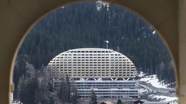Das Hotel Intercontinental in Davos