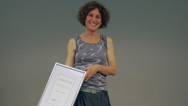 Sara Hauschild gewinnt den Ostschweizer Medienpreis