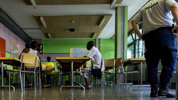 Zivilschutzräume für Asylsuchende in Graubünden