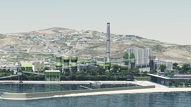 Kohlekraftwerk Saline Joniche