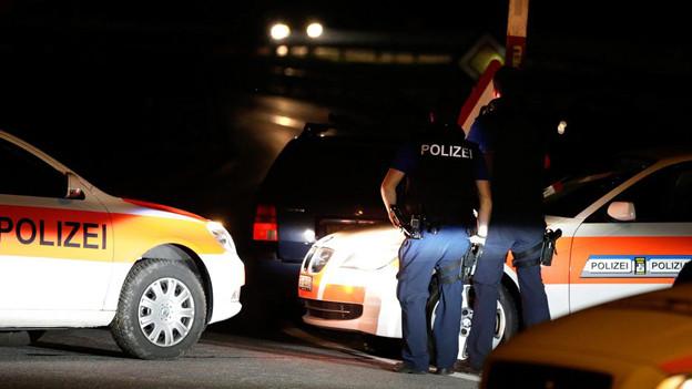 Die Geiselnahme löste einen grossen Polizeieinsatz aus.