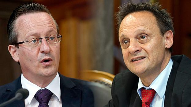 Martin Schmid und Stefan Engler im Live-Gespräch