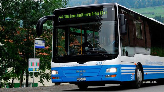 St. Gallen will Aktien der Bus Ostschweiz AG verkaufen