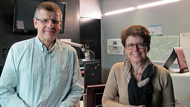 Sepp Föhn und Agnes Brandenburger wollen Chef von Landquart werden.