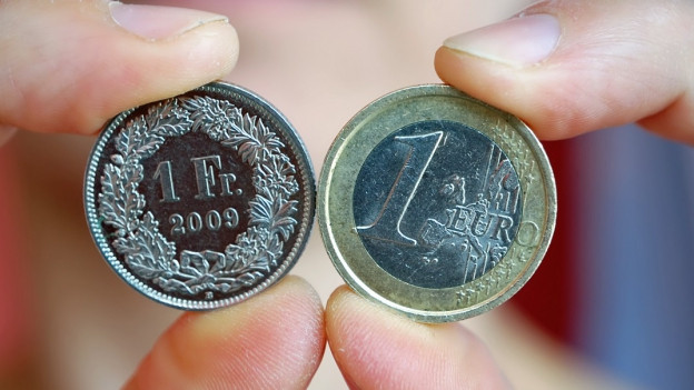 Symbolbild: Franken-Euro-Wechselkurs