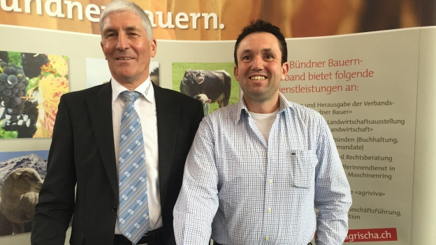 Thomas Roffler (rechts) tritt die Nachfolge von Hansjörg Hassler an.