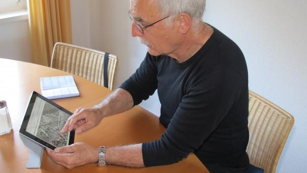 Peter Abegglen und sein wikispeicher.ch.