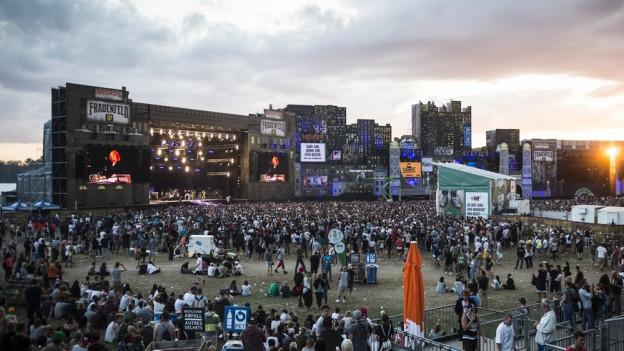 Die Bühne des Open Airs