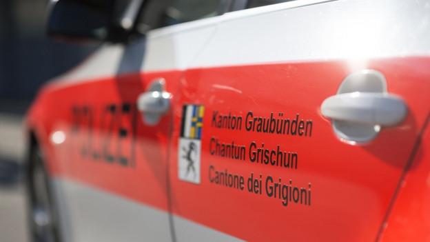 Auto der Kantonspolizei Graubünden