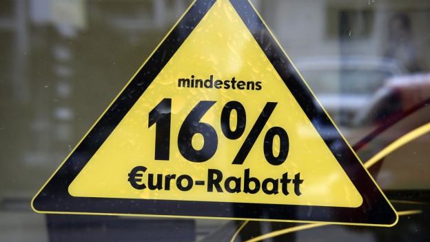 Euro-Rabatt