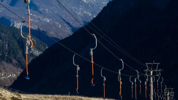 Ohne Schnee keine Einnahmen für die kleinen Skigebiete