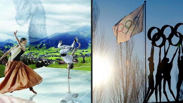 Zuerst Olympische Spiele, dann die Landesausstellung? iiz?