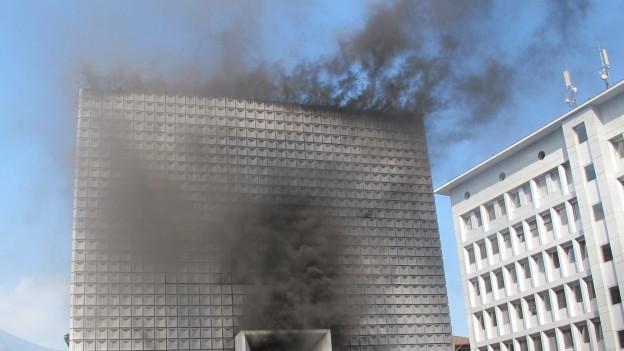 Nach dem Brand ist der Eröffnungstermin offen