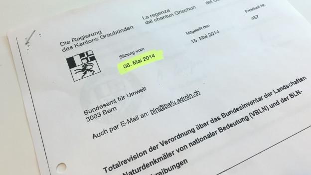Dokumente Öffentlichkeitsgesetz