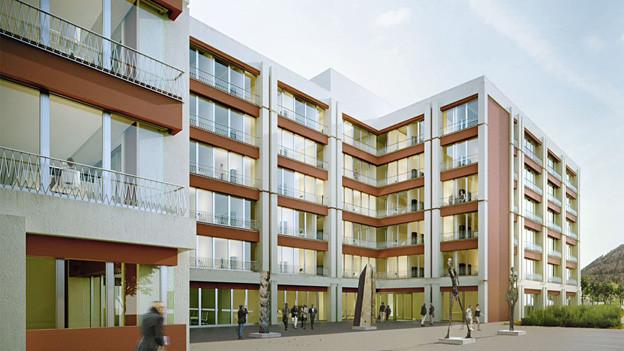 Kantonales Verwaltungszentrum «Sinergia»