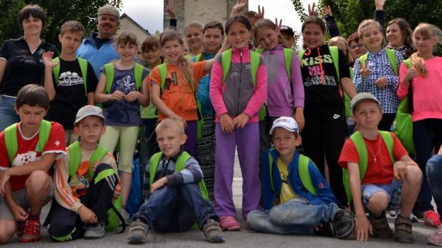 Auch 30 Jahre nach der Atom-Katastrophe in Tschernobyl können Kinder aus Russland in der Surselva Ferien machen.