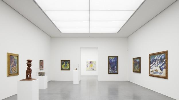 Der 7-stöckige Erweiterungsbau des Kunstmuseums wurde heute feierlich eröffnet.