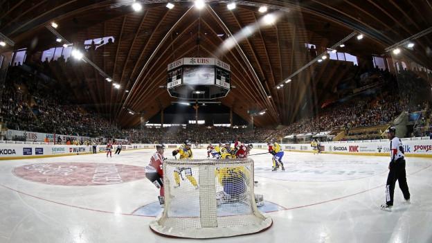 Davos: Neue Eishalle zum Jubiläum vom HCD
