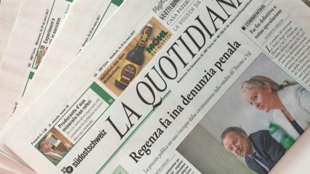 Der «La Quotidiana» droht das Aus