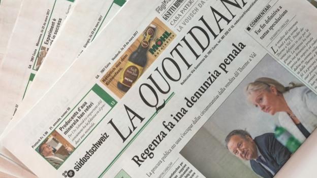 Runder Tisch zur Zeitung «La Quotidiana»
