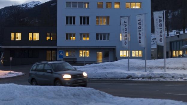 Das Spital im Münstertal