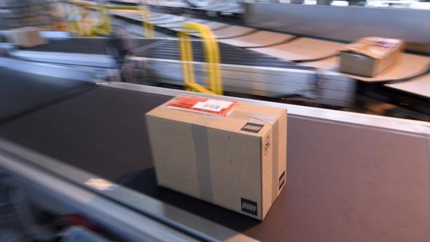 Neues Paketzentrum in Landquart