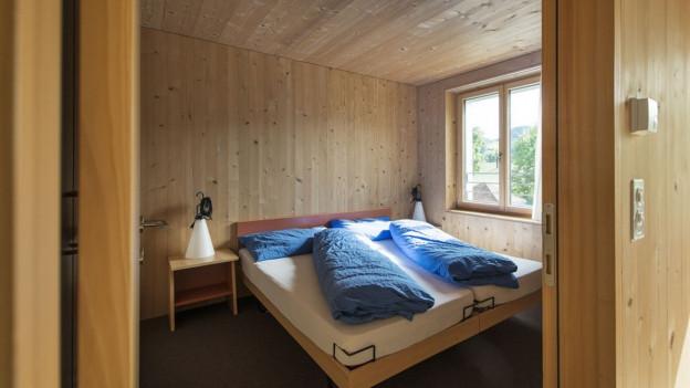 Betten in einer Zweitwohnung
