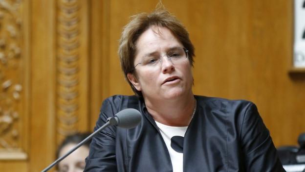 Nationalrätin Magdalena Martullo zieht Zwischenbilanz.