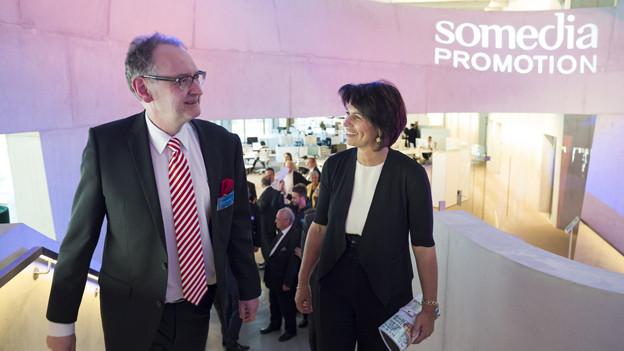 Somedia-CEO Andrea Masüger tritt zurück