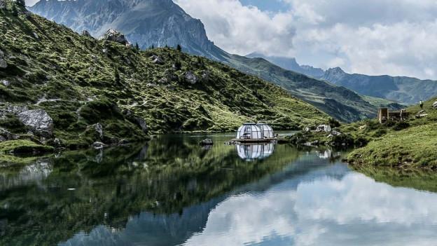 Bergsee-Bungalow