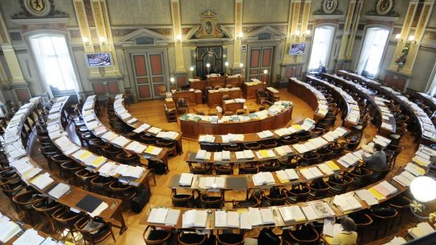 Vor zehn Jahrne hat St. Gallen den Kantonsrat um einen Drittel verkleinert.