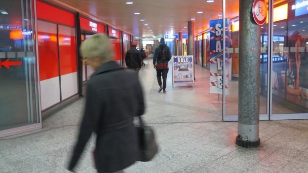 Unterführung Bahnhof Wil