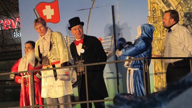 Die 43-jährige Géraldine Brot ist die neue Ehren-Födlebürgerin von St.Gallen.