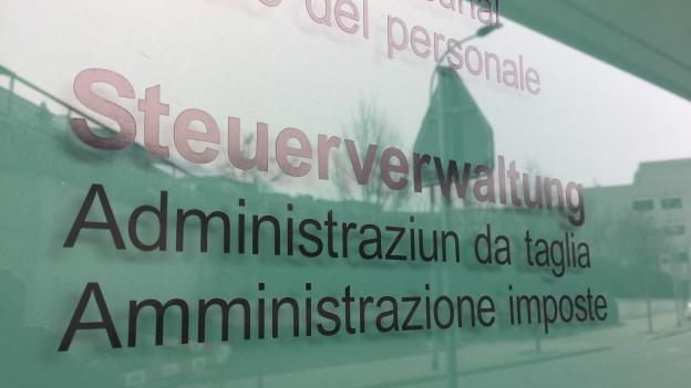 Eingang zu Steuerverwaltung