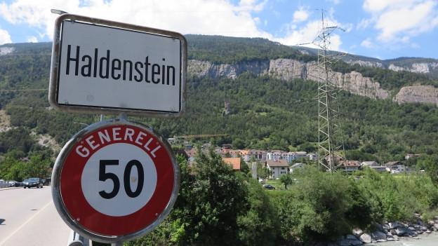Ist Haldenstein bald ein teil von Chur?