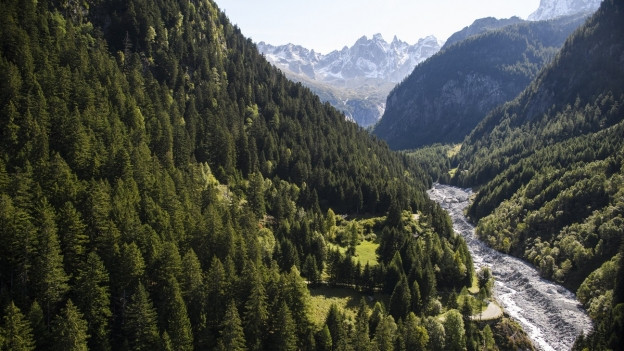 Felssturz im Val Bondasca