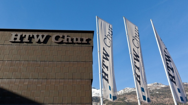 Gebäude der HTW in Chur.