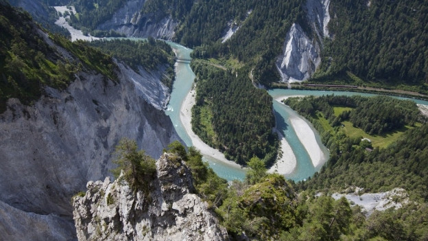 Die Rheinschlucht