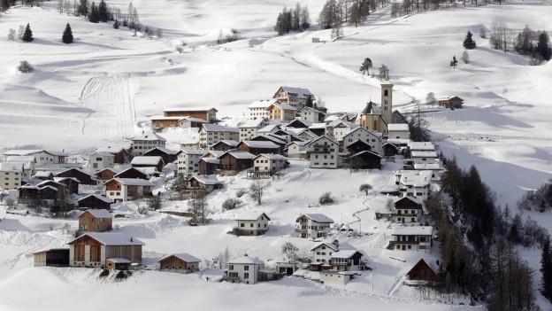 Stierva im Kanton Graubünden