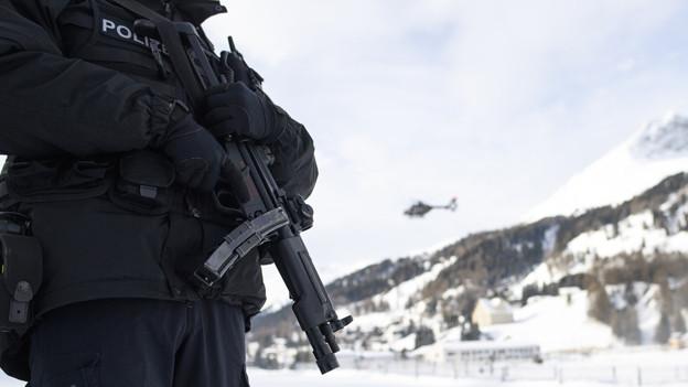WEF: Polizei schöpft Kostendach wohl aus