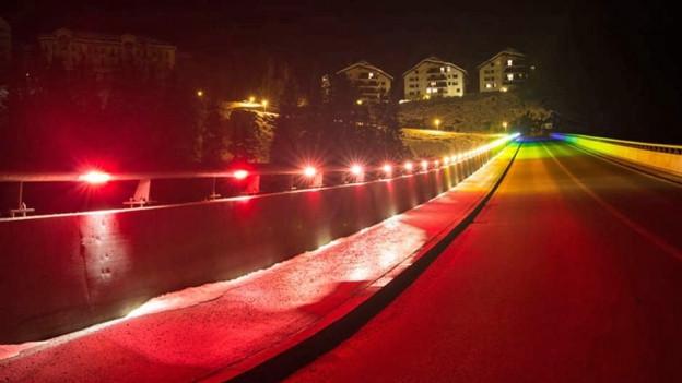 «Regenbogenbrücke» soll wieder farblos werden