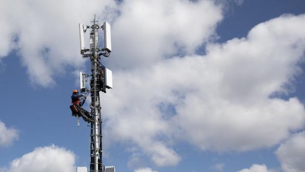 In Graubünden kommt 5G aufs politische Parkett.