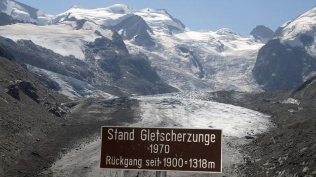Gehen die Gletscher wegen dem vielen Schnee langsamer zurück?