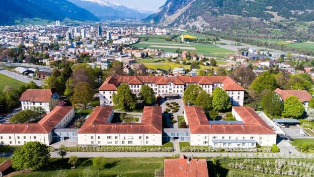 Am Standort Waldhaus in Chur soll eine neue KJP-Klinik entstehen.