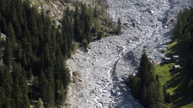 Bergsturz im Bergell wird zum Gerichtsfall